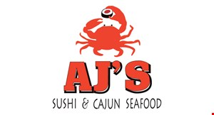 Product image for AJ's Sushi & Cajun Seafood $1 OFF all-you-can-eatsushi