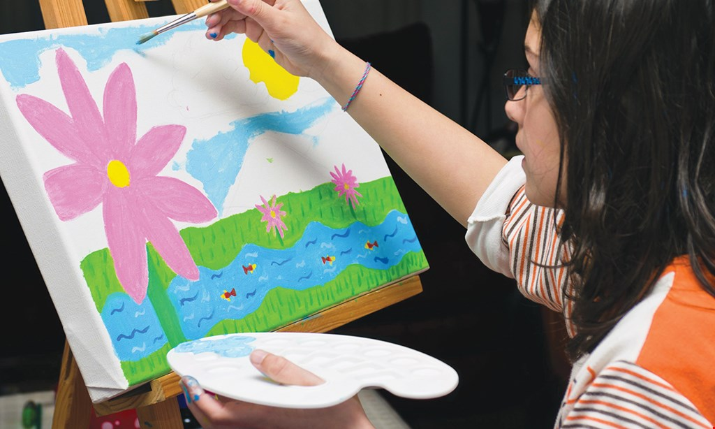 Product image for Little Artists FREE ART CLASS