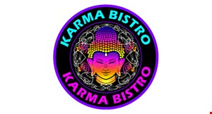Product image for Karma Bistro $5 off any purchase of $30 or more. $10 off any purchase of $55 or more. $20 off any purchase of $100 or more.