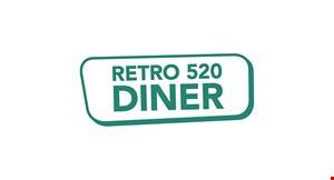 Retro 520 Diner logo