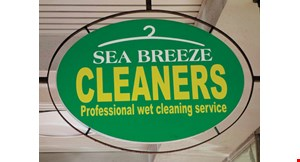 Sea Breeze Cleaners logo