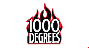 Product image for 1000 Degrees $10 off any purchase of $50 or more