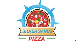 Product image for Silver Sands Pizza $25.99 family special