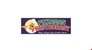 Pizzaman Restaurant logo