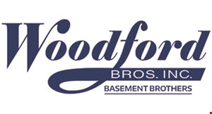 Product image for Woodford Bros. Inc. $100 OFF Any Waterproofing System Install