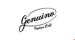 Genuino Italian Cafe logo