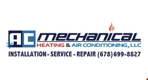 Product image for AC Mechanical Heating & Air Conditioning 10% OFF your repairs.