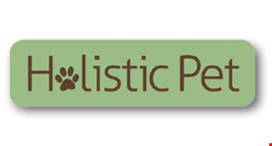 Product image for Holistic Pet $10 OFF any purchase of $100 or more.
