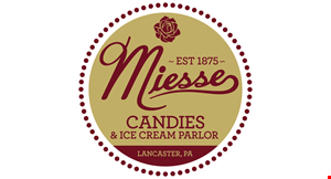Miesse Candies & Ice Cream Parlor logo