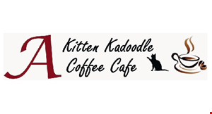 Product image for A Kitten Kadoodle Coffee Cafe 15% OFF all smoothies.