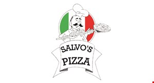 Product image for Salvo's Pizza $10 OFF any purchase of $60 or more Online Code - CLP10.