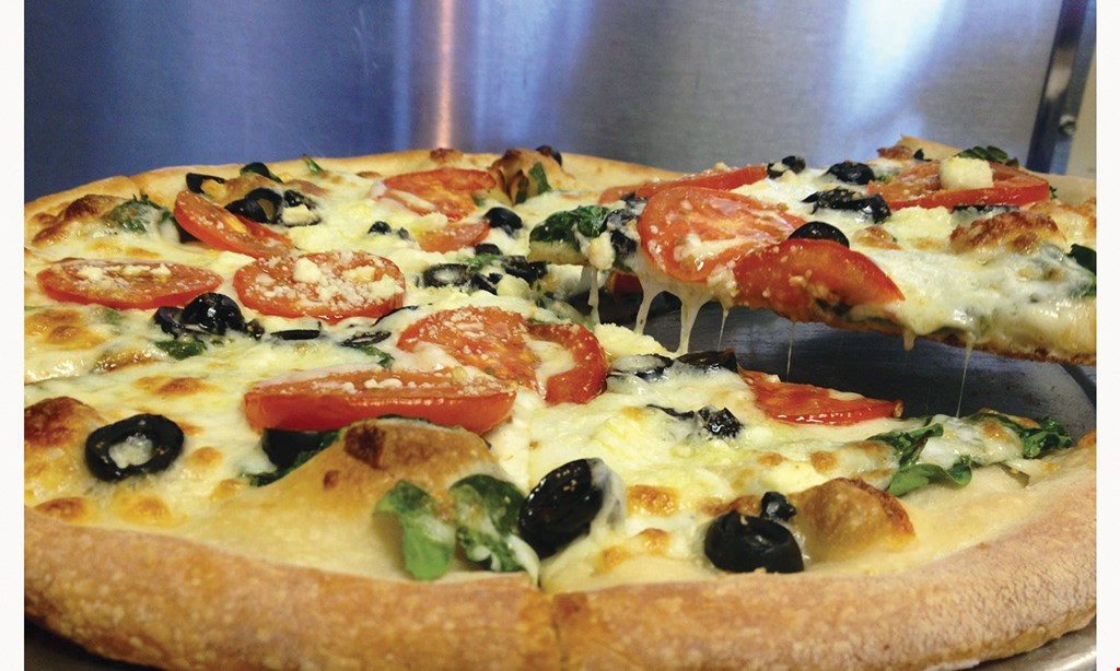Product image for Salvo's Pizza $5 OFF any purchase of $30 or more Online Code - CLP5.