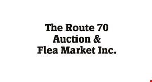 Rt 70 Auction & Flea Market logo