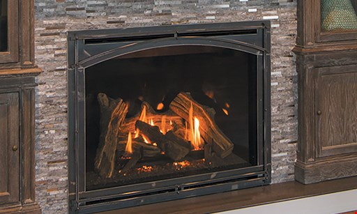 Product image for AMS Fireplace Inc. $200 off any installed log set with a purchase of an installed fireplace door.