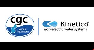 Kinetico Cgc Water logo