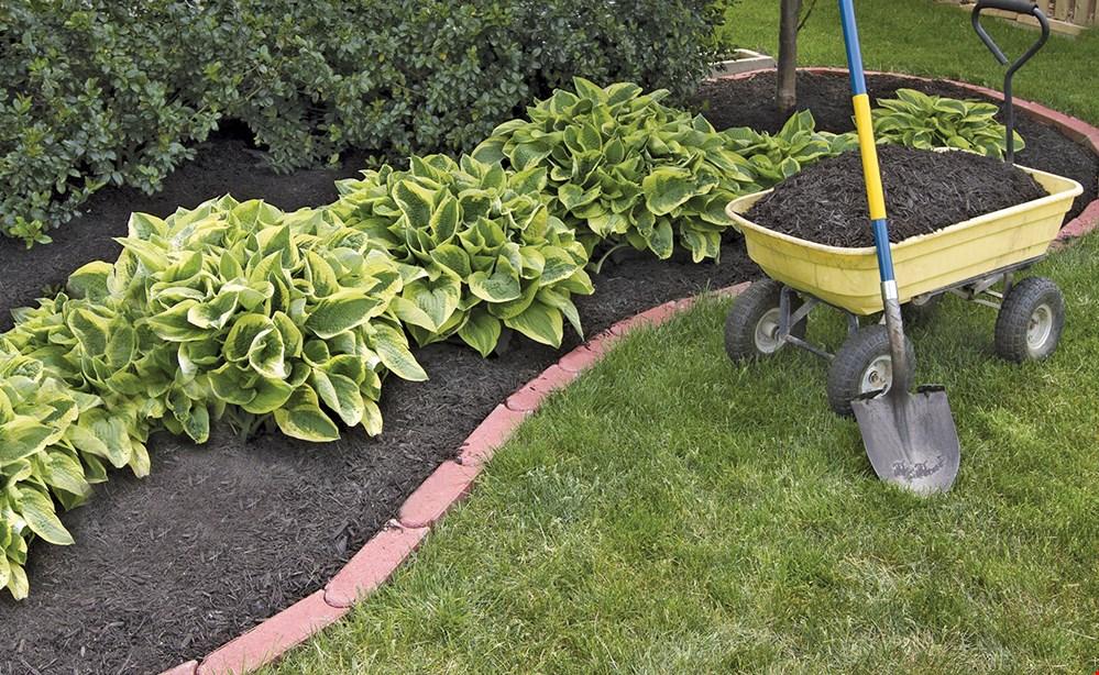 Product image for Mulch Pros $35 off bulk mulch 10 cubic yard minimum. CODE: SPRING2021.