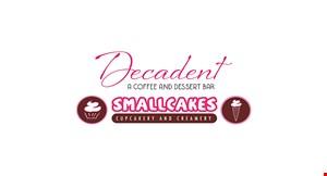Smallcakes & Decadent A Coffee & Dessert Bar logo