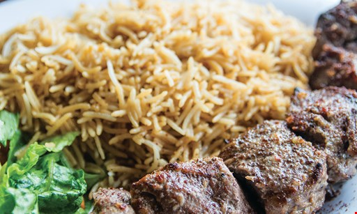 Product image for Sizzle Kabob $5 OFF any purchase of $20 or more valid on takeout & dine in.