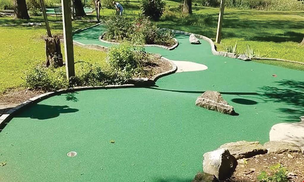 Product image for The Shack Restaurant & Mini Golf BOGO mini golf