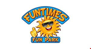 Product image for Funtimes Fun Park $5 Off 1 adult or junior fun day pass