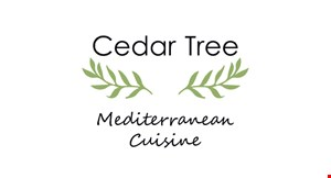 Product image for Cedar Tree 10% OFF your entire order.