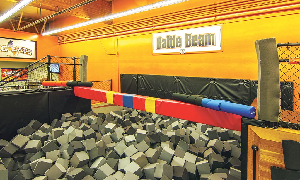 Product image for Big Air Trampoline Park FREE jump hour