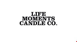 Life Moments Candle Co. logo
