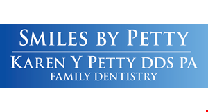 Product image for Karen Petty Dds- Sanford $299 Dental Savings Plan($495 Value)PLAN INCLUDES:2 Routine Exams**2 Healthy Mouth Cleanings**1 Flouride TreatmentNecessary X-raysOral Cancer Screening1 Urgent Care Exam with X-ray20% Discount on Needed Treatment*Plan Fees Are Non-Refundable*Certain restrictions apply. Cannot be combined with other offers.