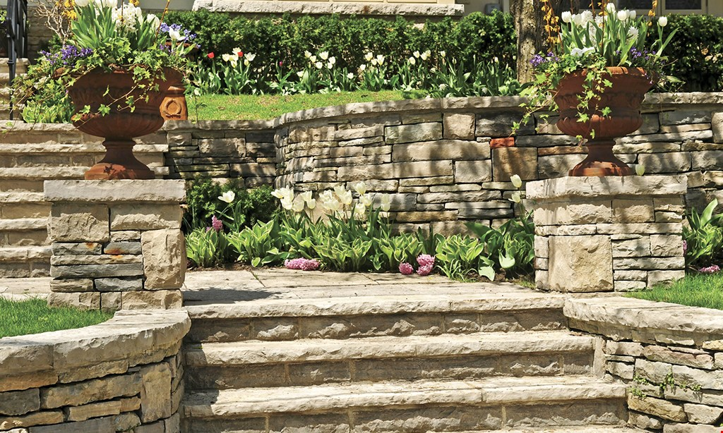Product image for J&S Wall Design $300 OFF any hardscape job of $5000 or more.