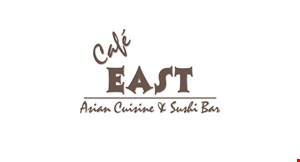 Product image for Cafe East 10% OFF your total purchase