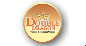 Product image for Double Dragon $5 off dinner