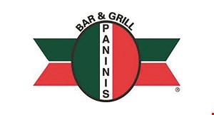 Paninis Bar & Grill - Westlake logo