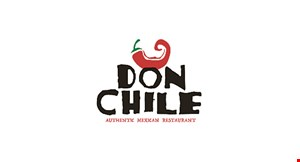 Product image for Don Chile $1 off any purchase of $10 or more for lunch