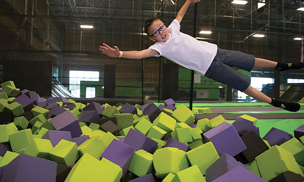 Product image for Get Air $50 For 2 Hours Of Family Fun For 4