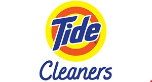 Product image for Tide Dry Cleaners FREE 2 Garments Cleaned.