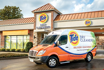Product image for Tide Dry Cleaners Free one garment cleaned.