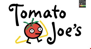 Tomato Joe's Pizza logo