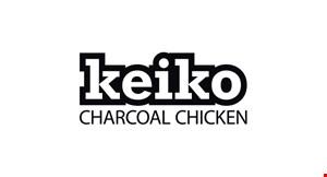 Keiko Charcoal Chicken logo