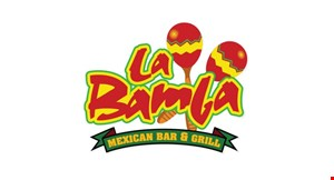 Product image for La Bamba Mexican Bar & Grill - Dallas $5 OFF ANY PURCHASE of $30 or more • dine in only.