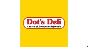 Dot's Deli logo