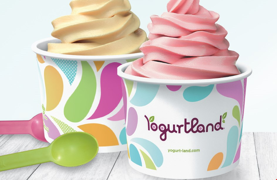 Product image for Yogurtland BOGO - BUY ONE GET ONE FREE