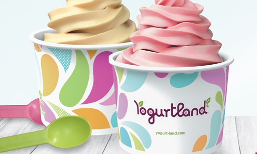 Product image for Yogurtland BOGO - BUY ONE GET ONE FREE.