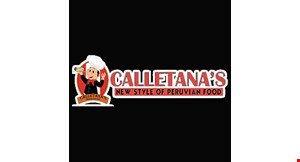 Calletana's Peruvian Food logo