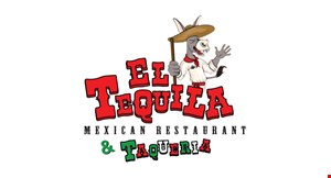 Product image for El Tequila $5 OFF any purchase of $40 or more Dine in only Excludes to go orders Does not include tax or alcohol.