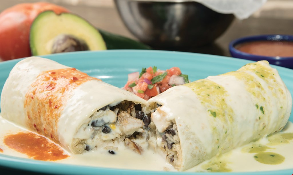 Product image for Cielo Blue Mexican Cantina - Acworth FREE MEAL Buy one meal and 2 drinks at regular price and receive the second meal of equal or lesser value FREE · Value up to $10.