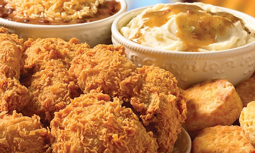 Product image for Popeyes Louisiana Kitchen $24.99 14pcs chicken or tenders, 2 large sides & 5 biscuits