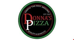 Donna's Pizza Pompton Lakes logo
