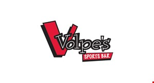 Product image for Volpe's Sports Bar $5 Off any purchase of $25 or more.