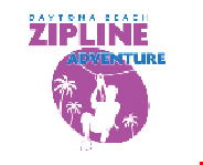 Product image for Daytona Beach Zipline Adventure $5 OFF FULL COMBO Use Promo Code PLUM5 when booking online.