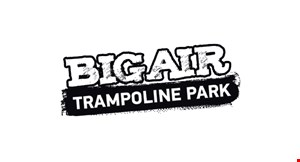 Product image for Big Air Trampoline  Hiram $45 For 1-Hour Jump Passes For 4 People, Large Pizza & Pitcher Of Soda (Reg. $90)